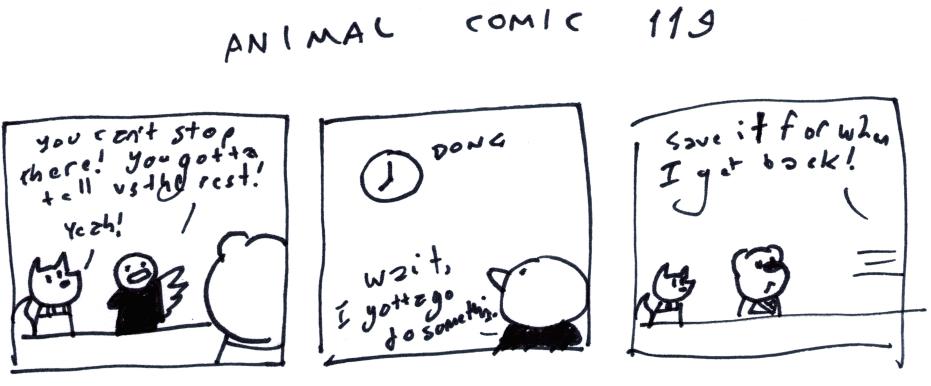 Animal Comic 119