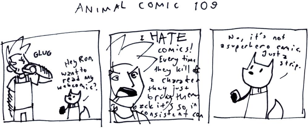 Animal Comic 109