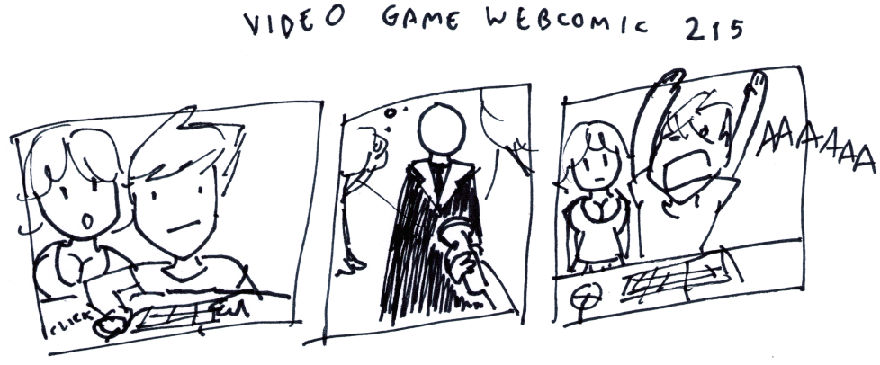 Video Game Webcomic 215