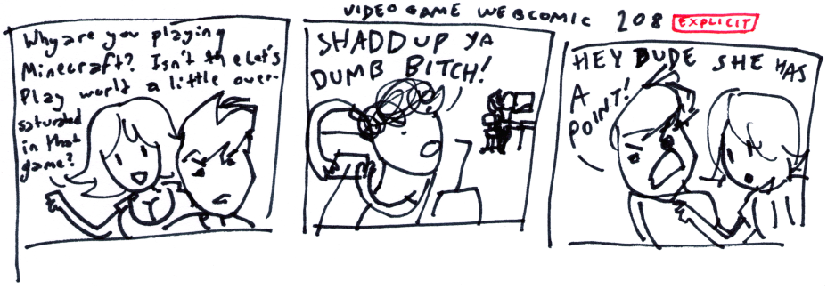 Video Game Webcomic 208