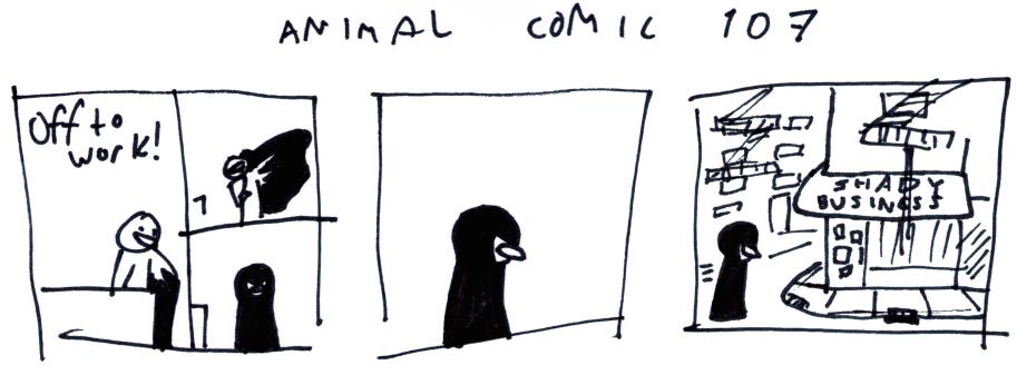 Animal Comic 107