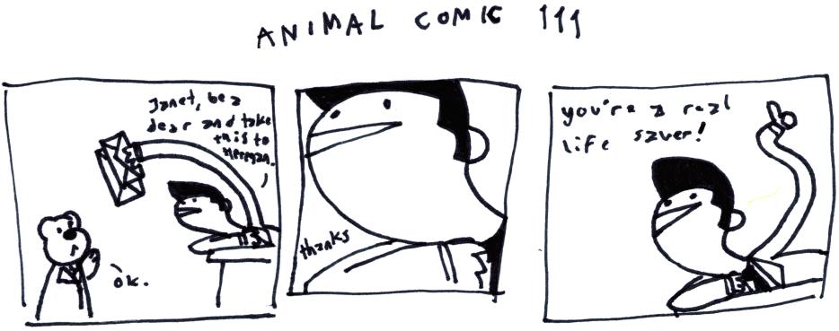 Animal Comic 111