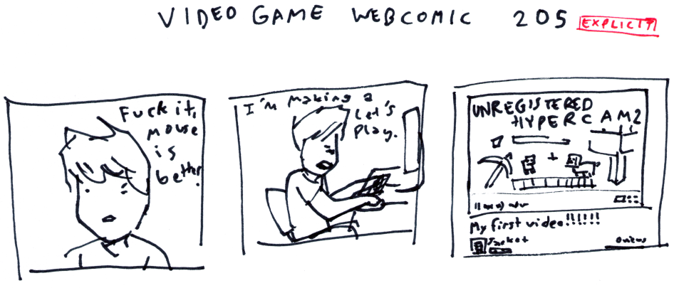 Video Game Webcomic 205