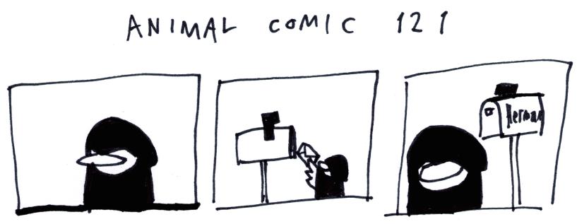 Animal Comic 121