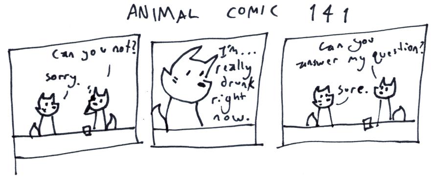 Animal Comic 141