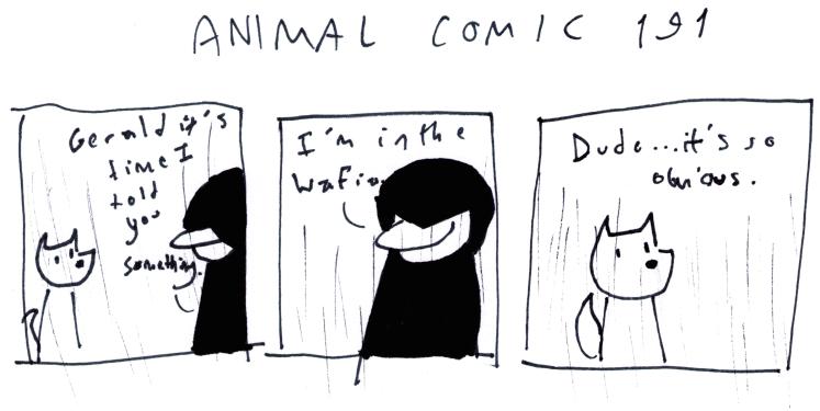 Animal Comic 191