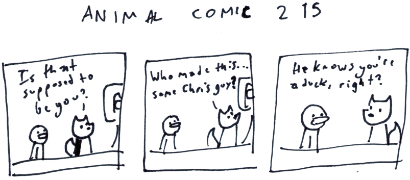 Animal Comic 215