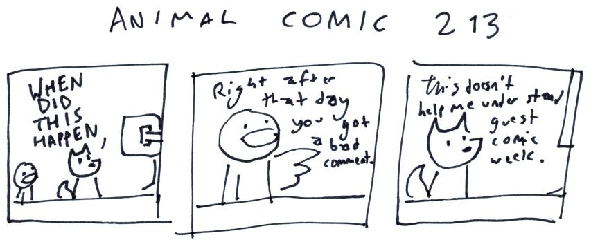 Animal Comic 213