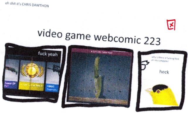 Guest Webcomic by Chris Dawthon