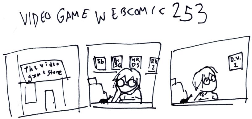 Video Game Webcomic 253