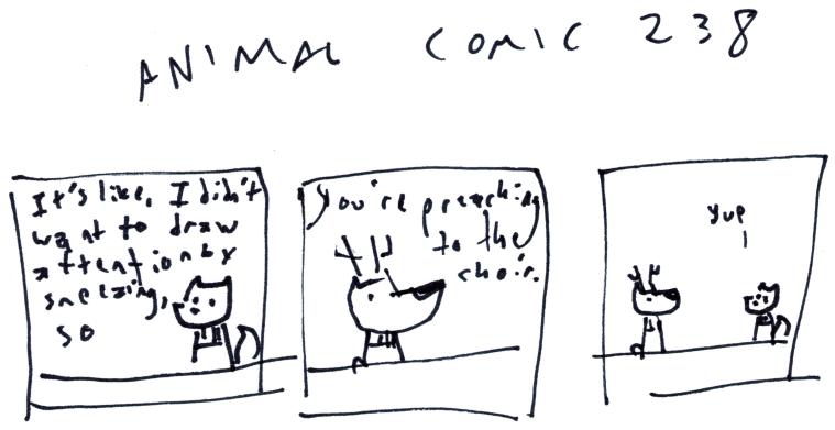 Animal Comic 238