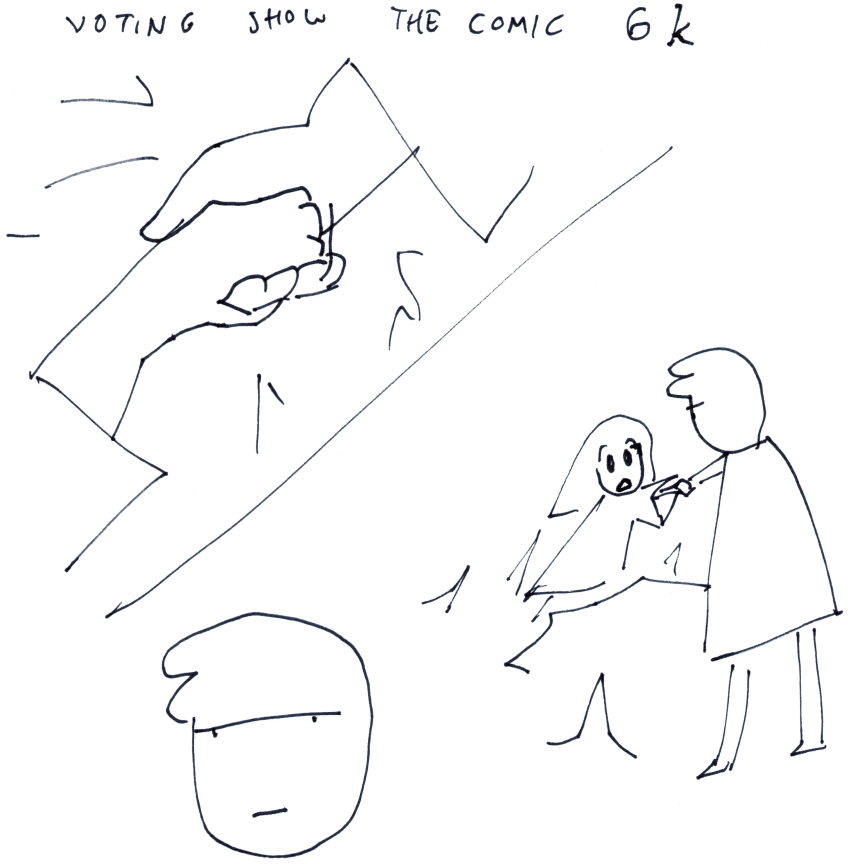 Voting Show the Comic 6k