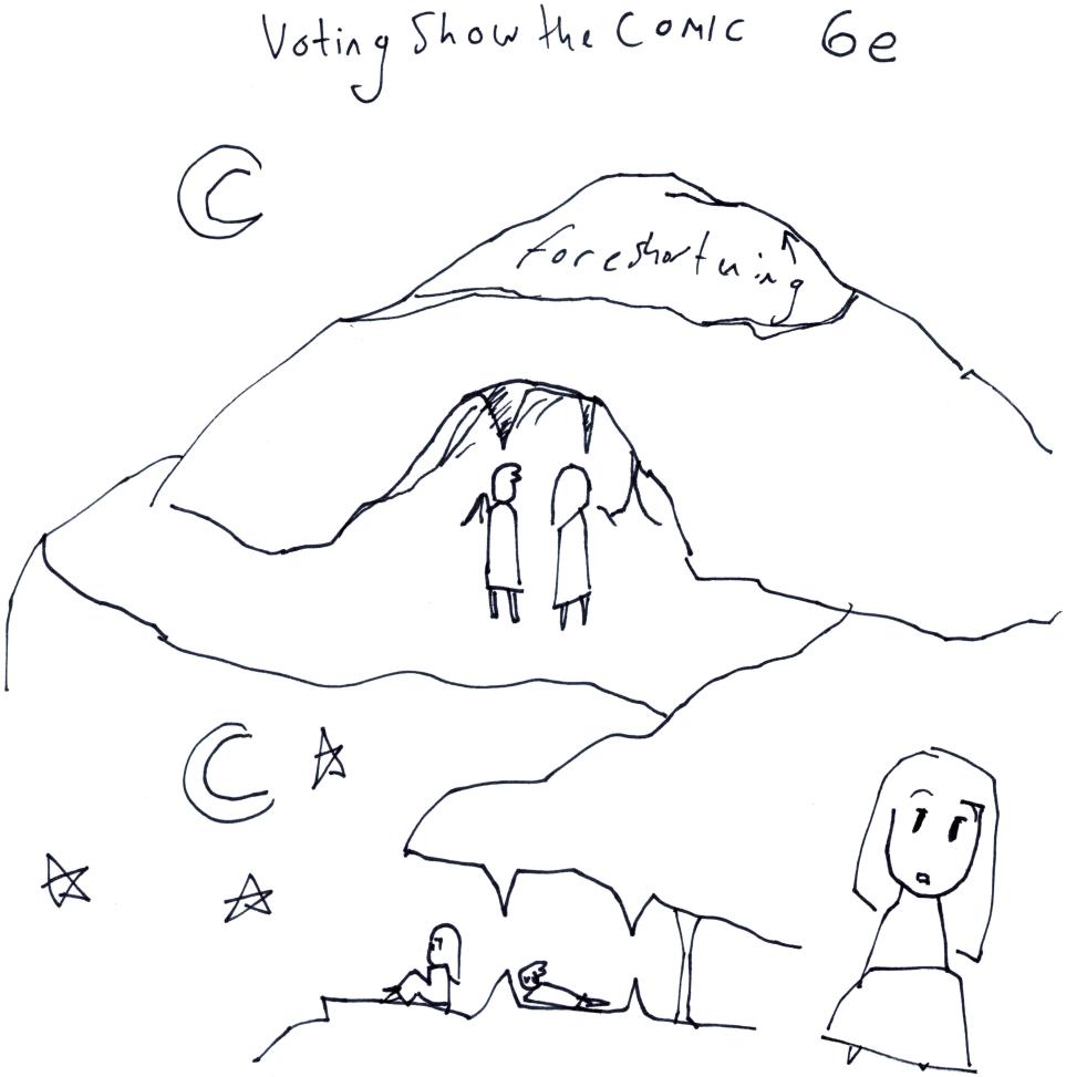 Voting Show the Comic 6e