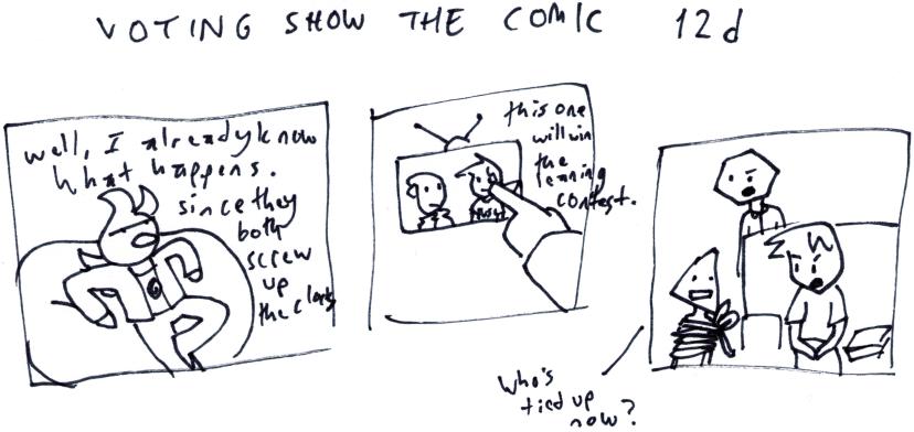 Voting Show the Comic 12d