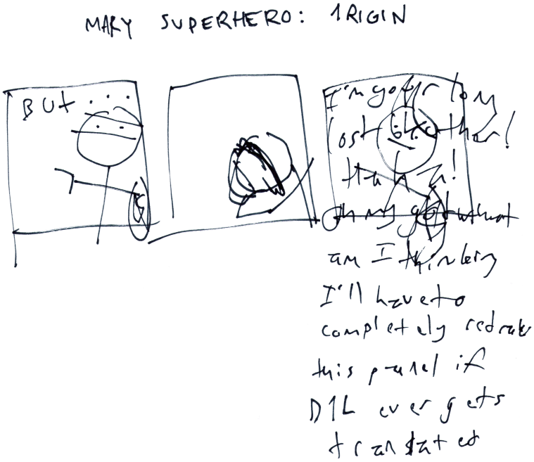 Mary Superhero: 1rigin