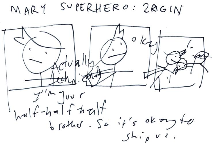 Mary Superhero: 2rigin