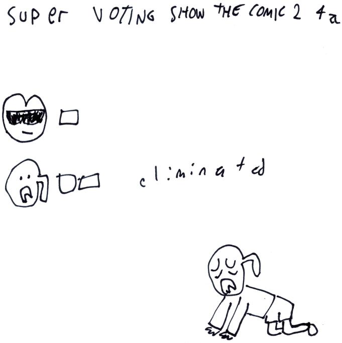 Super Voting Show The Comic 2 4a