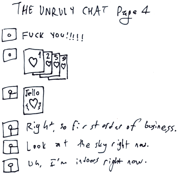 The Unruly Chat page 4