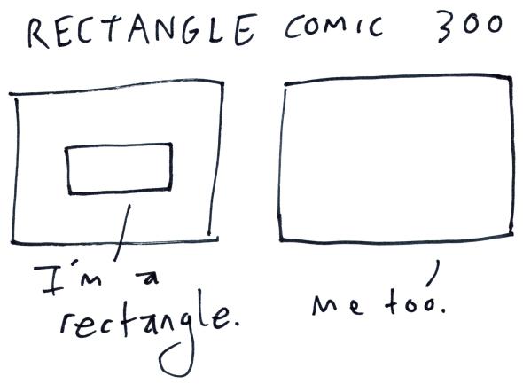 Rectangle Comic 300