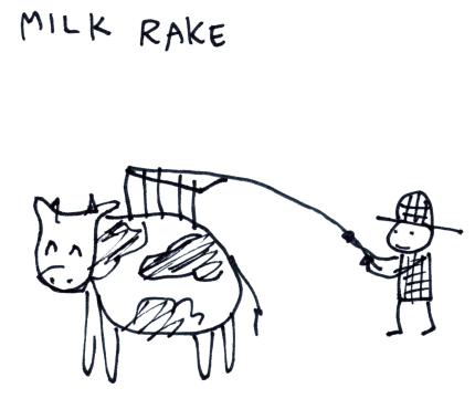 Milk Rake