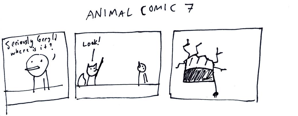 Animal Comic 7
