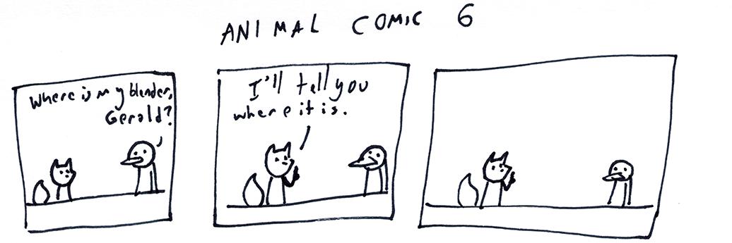 Animal Comic 6