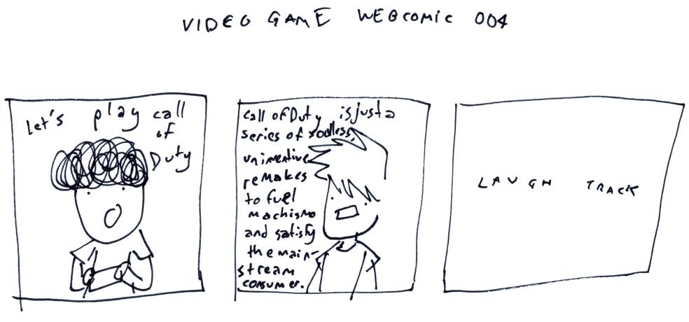 Video Game Webcomic 004