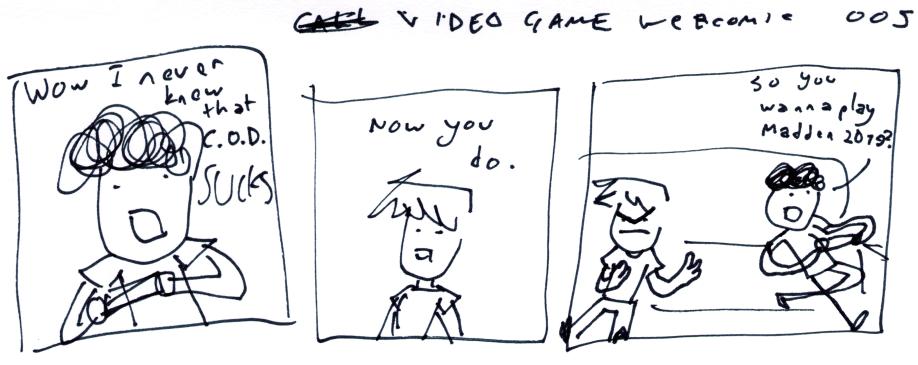 Video Game Webcomic 005