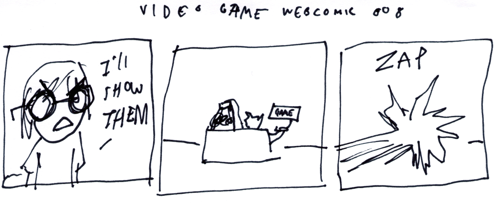 Video Game Webcomic 008