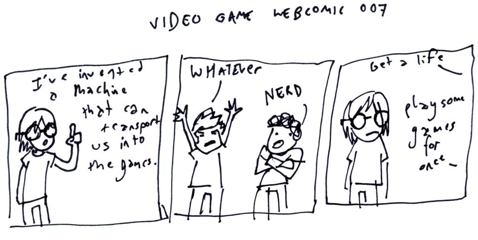 Video Game Webcomic 007