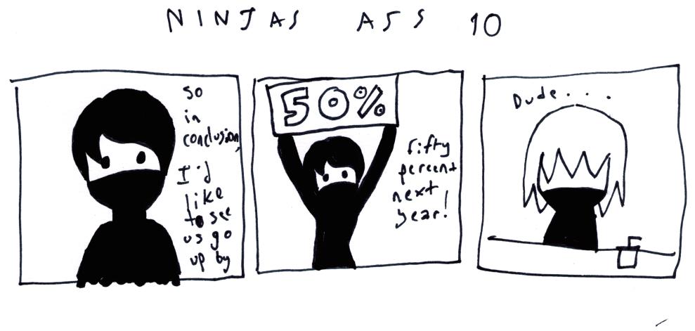 Ninjas Ass 10