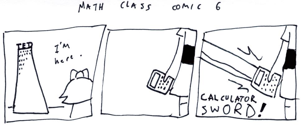 Math Class Comic 6