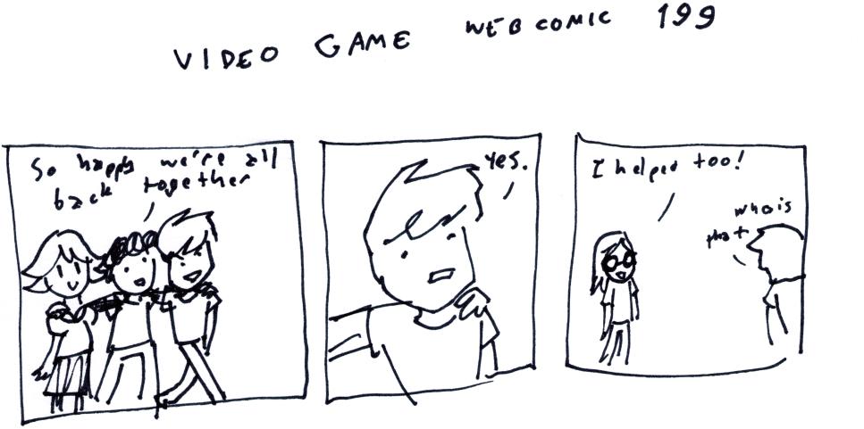Video Game Webcomic 199