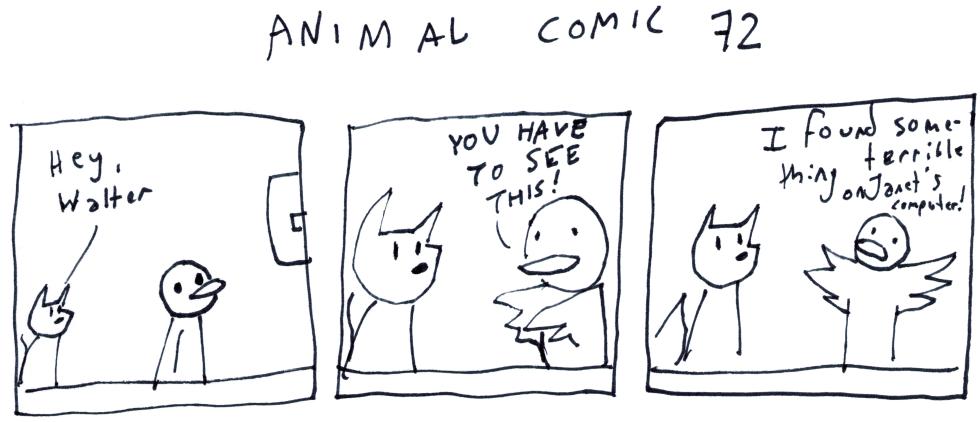 Animal Comic 72