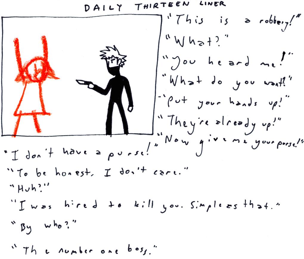 Daily Thirteen Liner