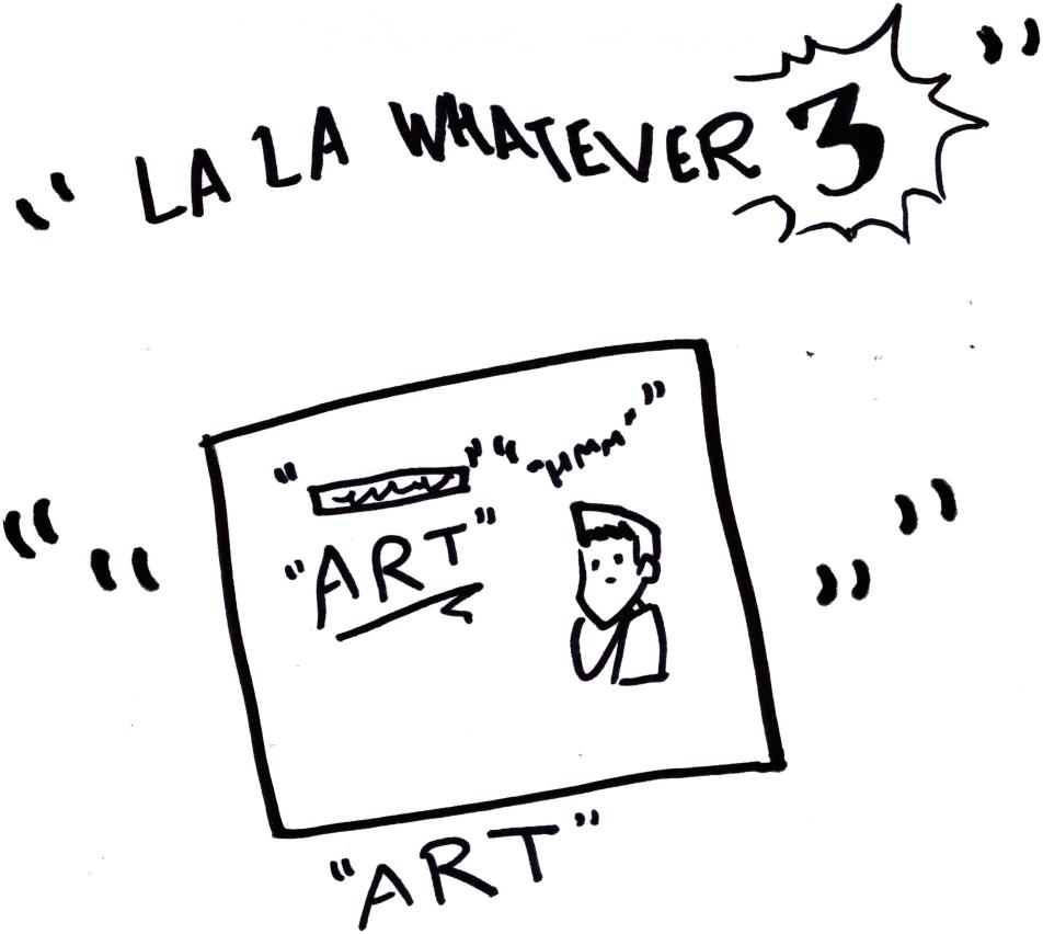 """La La Whatever 3"""